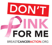 Dont Pink for Me logo