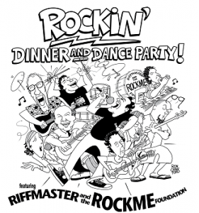 rockin dance party logo