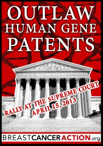 Rally Against Human Gene Patents