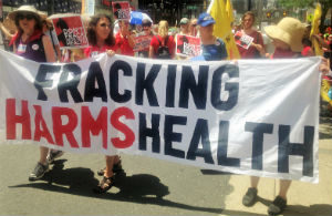 300pxBCAction members hold Fracking Harms Health