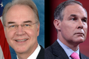 Tom Price and Scott Pruitt