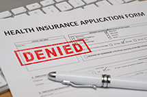 health insurance denial small